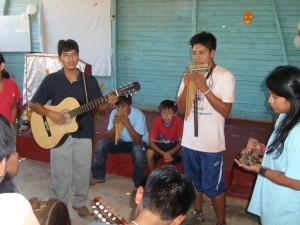 Die Gemeinde-eigene Musikgruppe Yemanza